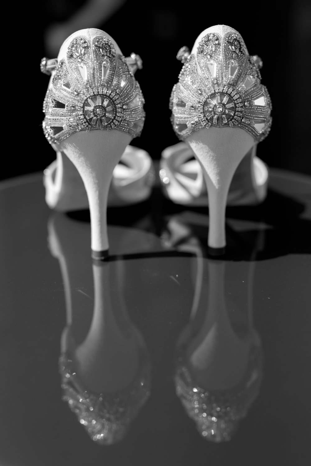 Emmy London bridal shoes at The Curtain hotel London