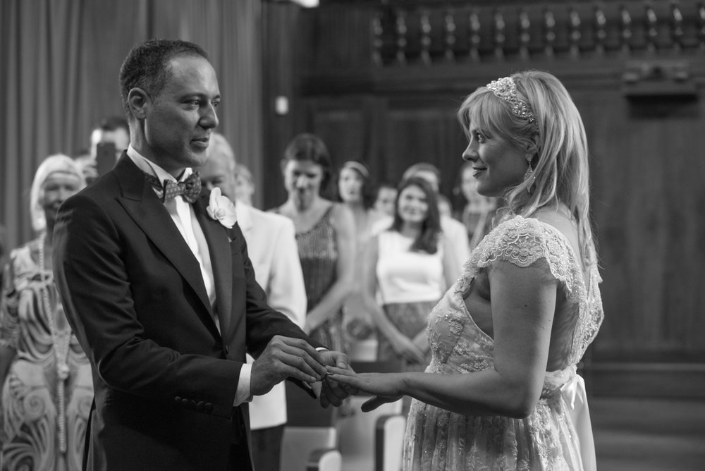 Wedding story. Stoke Newington Town Hall wedding