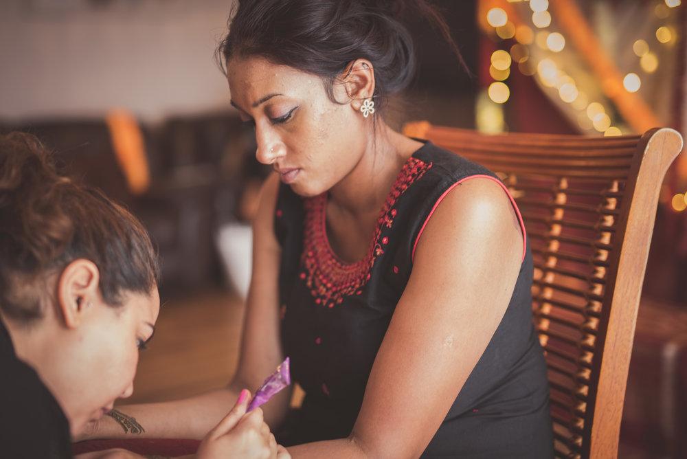 Hindu Bridal mehndi henna tattoo