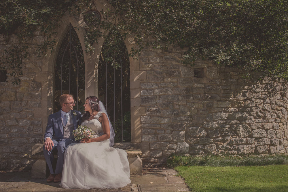 Romantic Wedding photography Tythe Barn Oxfordshire