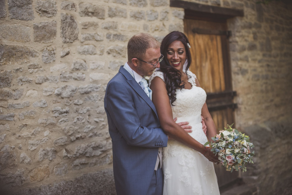 Wedding photography at Tythe Barn