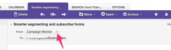 How to whitelist Carsun's Bazaar emails on Yahoo! mail.