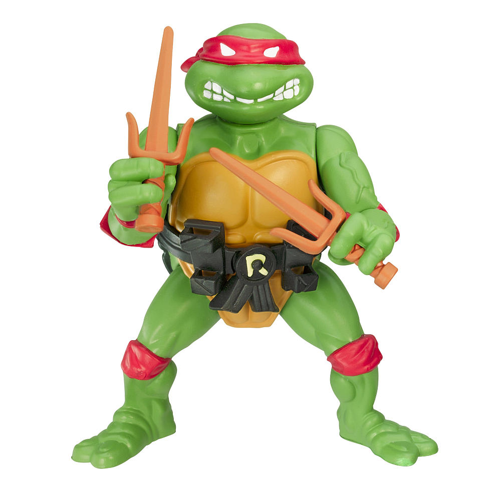 Raphael in unboxed action figure form. By far my favourite Ninja Turtle.