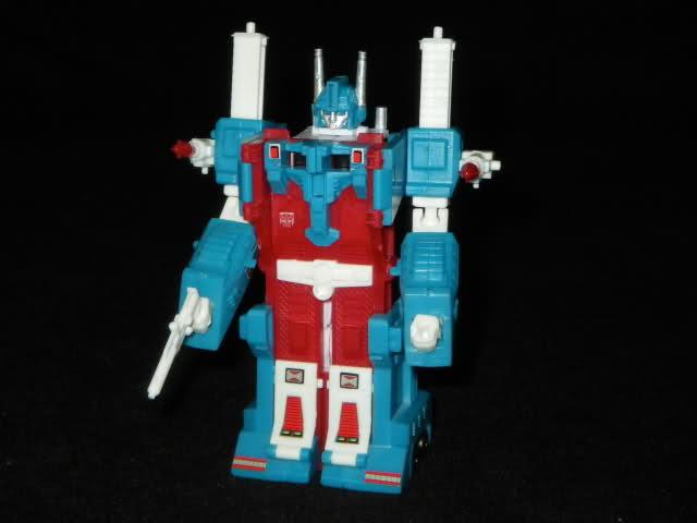 The original Ultra Magnus toy in robot mode.