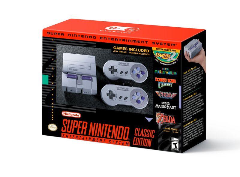 Nintendo - SNES Classic Edition Boxed