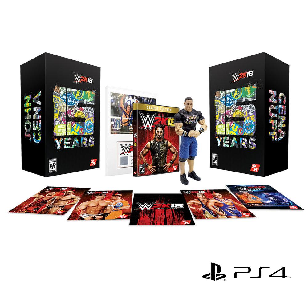 WWE/2K Games - John Cena (Nuff) Colector's Edition of WWE 2K18