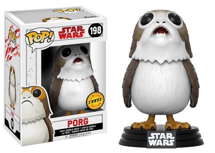 Porg Funko Pop Chase Figure
