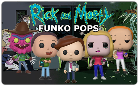 Grab Wave 3 of Rick and Morty Funko Pops here at Carsun's Bazaar!