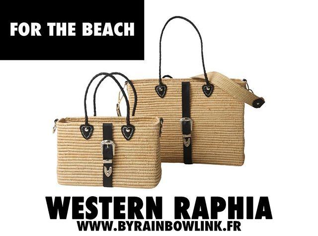 Découvrez la collection Western Raphia sur www.byrainbowlink.fr #forthebeach #byrainbowlink #eshop #bags #happyholidays