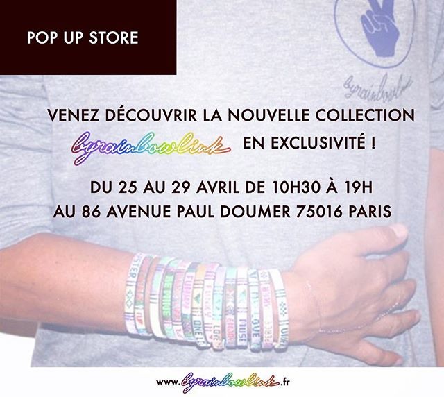 La nouvelle collection arrive ! Venez la découvrir en exclusivité du 25 au 29 avril ! Et bientôt en ligne sur www.byrainbowlink.fr #popupstore #byrainbowlink #rainbowlink #accessories #handlebags #shoes #bags #paris #fashion #clutches