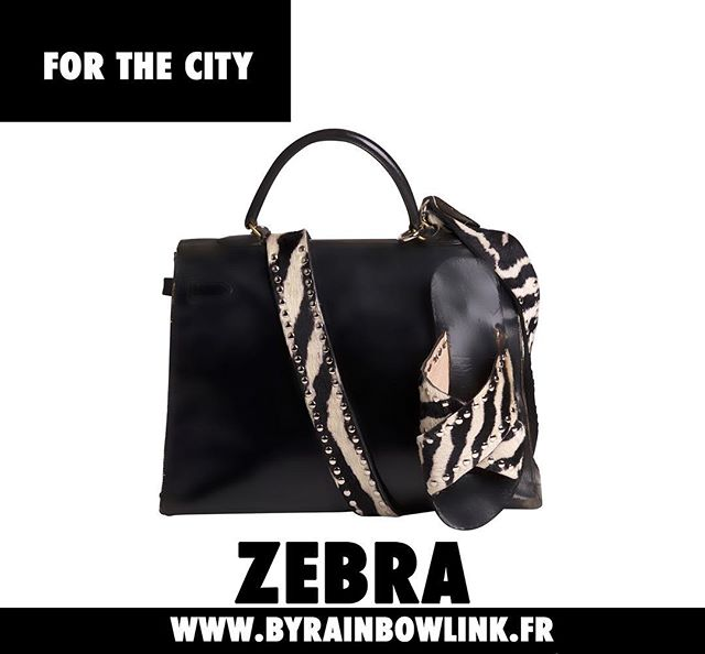 - F O R  T H E  C I T Y - #rainbowlink #byrainbowlink #zebra #forthecity #handlebags #accessories #shoes #bags #shoponline #eshop #paris #avalaible #linkinbio