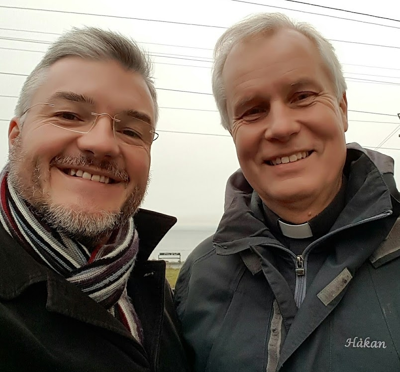Adrian and Håkan in Sweden