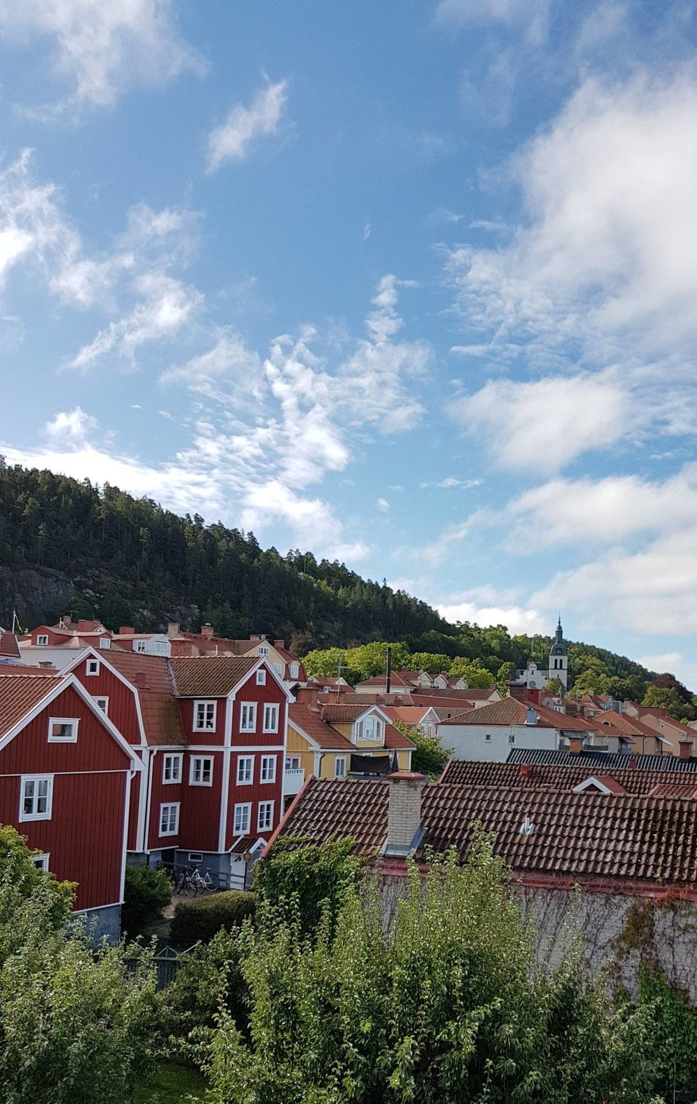 A view of Gränna in the Diocese of Växjö, Sweden, taken on the morning of September 3rd, 2017