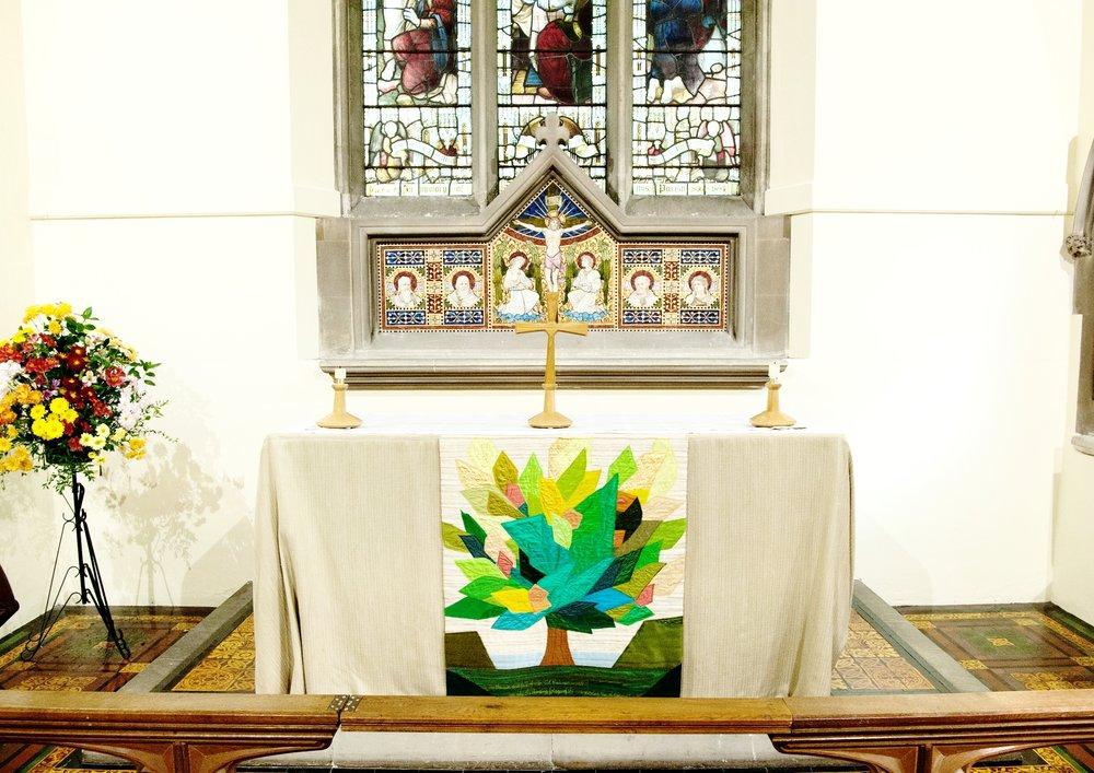 St Martin's Bladon, Altar