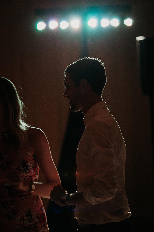backlit guest wedding reception louisville KY