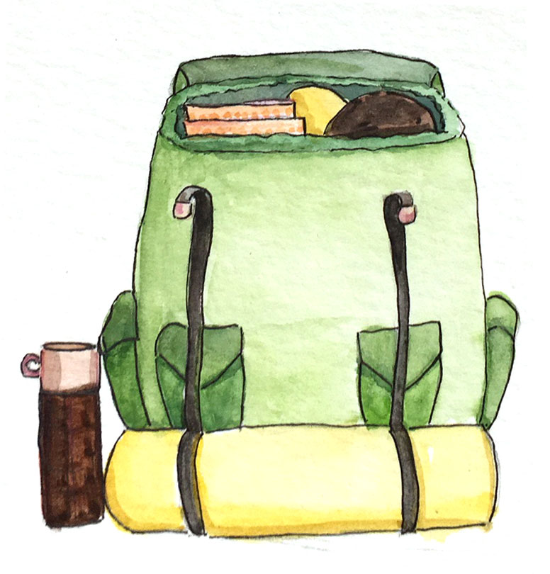 Deciding What to Pack - As you prepare to walk your own path, you'll need to know what you're capable of, what excites you, what tools you'll need to get there. This is a moment of safe exploration where you can try stuff out with very low stakes.