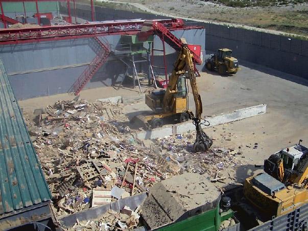 Planta revalorizacion residuos madera