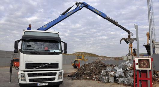 Recogida de residuos industriales en Zaragoza