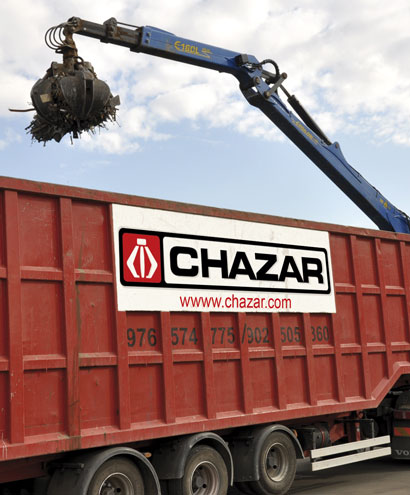 Retirada de residuos Chazar Zaragoza