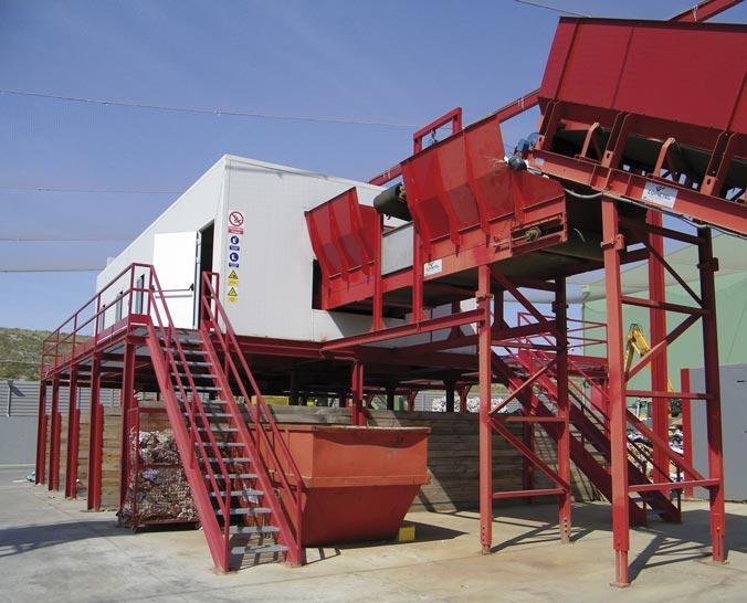 planta de retirada de residuos en zaragoza