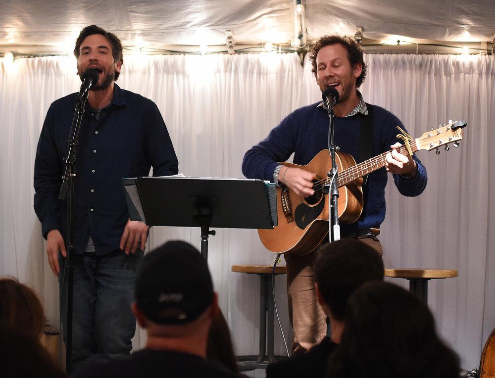 Josh Radnor and Ben Lee.JPG