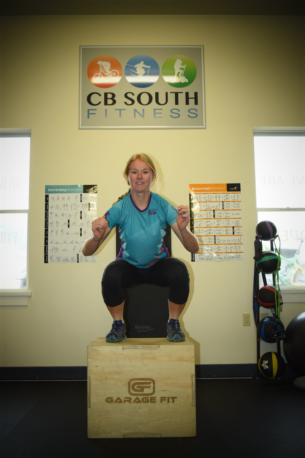 cooper box jump fitness and exercise crested butte gym