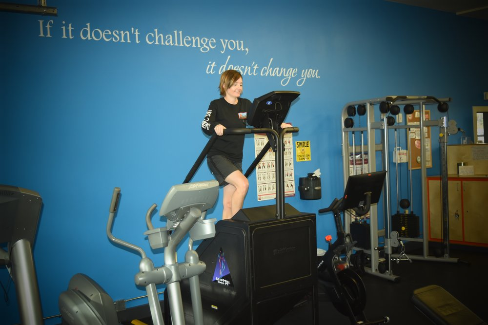Stairmaster stepmill crested butte fitness center