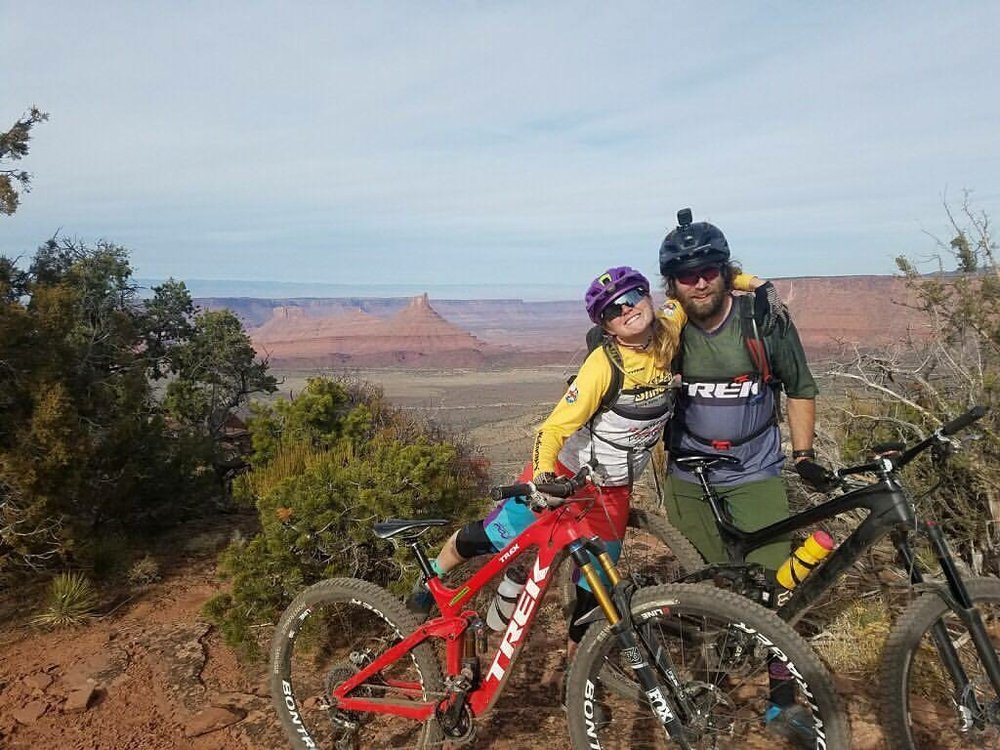 cooper and phil in moab fitness and exercise mountain biking crested butte gym