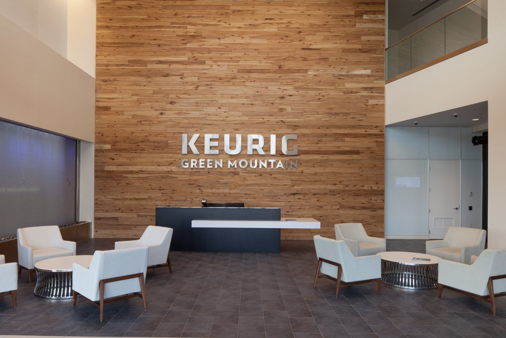 Keurig Green Mountain Burlington, Massachusetts 46,000 Square Feet Sea-Dar Construction