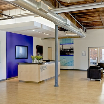 NX Stage Medical, Inc.   Commercial Medical Building Contractor: Lupoli Companies Architect: Deanne McGuinness Studio Lawrence, Massachusetts
