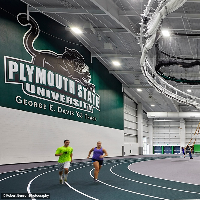 Plymouth State University      Athletic Building  Plymouth, NH ALLWell Center Contractor: Harvey Construction