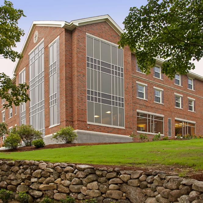 St. Anselm College   New Residential Dormitory Manchester, NH Square Feet: 47, 000 Contractor: Eckman Construction