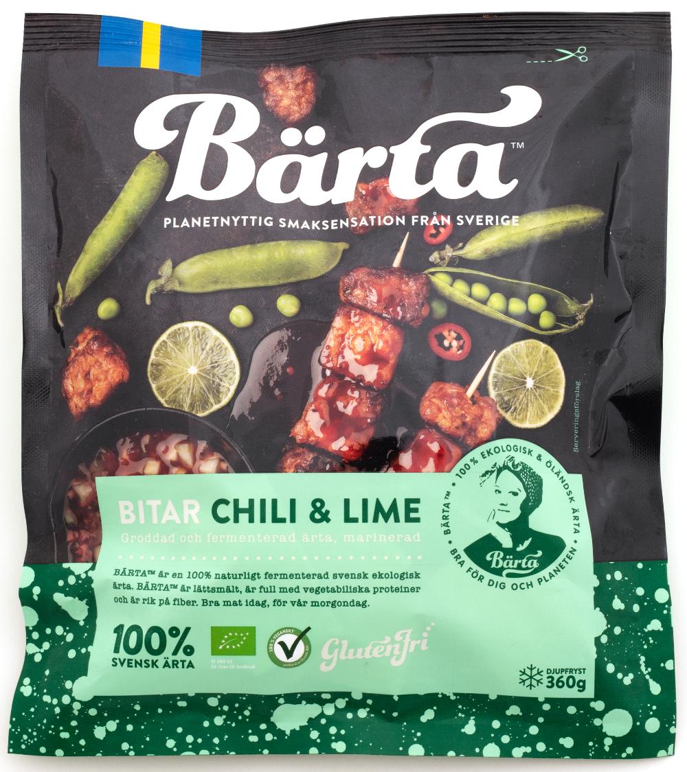 Förpackning Bärta chili & lime