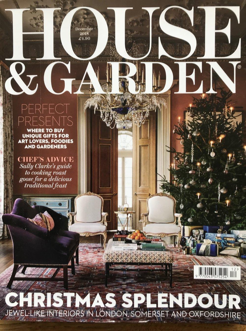 Chelsea Textiles design studio, House and Garden December 2018
