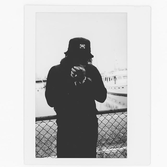 It's #TIME!!! My new song is available on #Spotify #iTunes & #AppleMusic! Peep the video on #Youtube LINK IN BIO 🕰⚫️| 📷@kellyfober #Instax