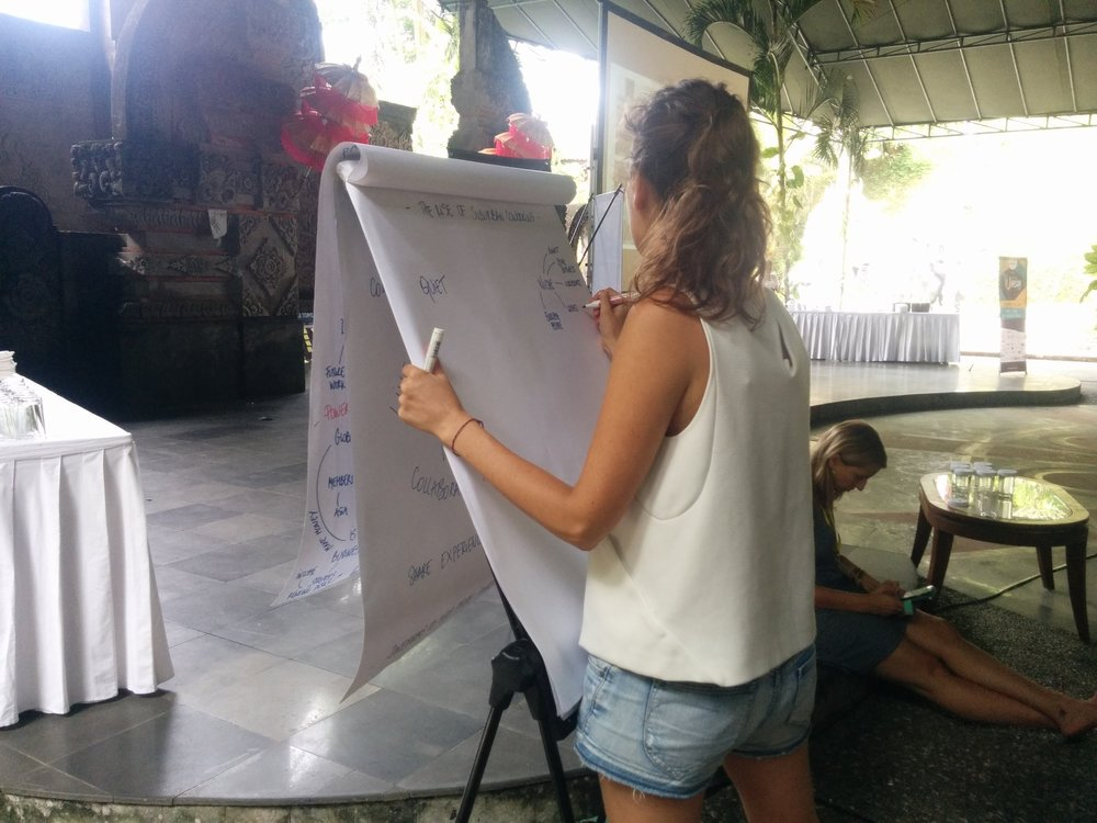 Coworking Unconference Asia , February 2016, Bali, Indonesia