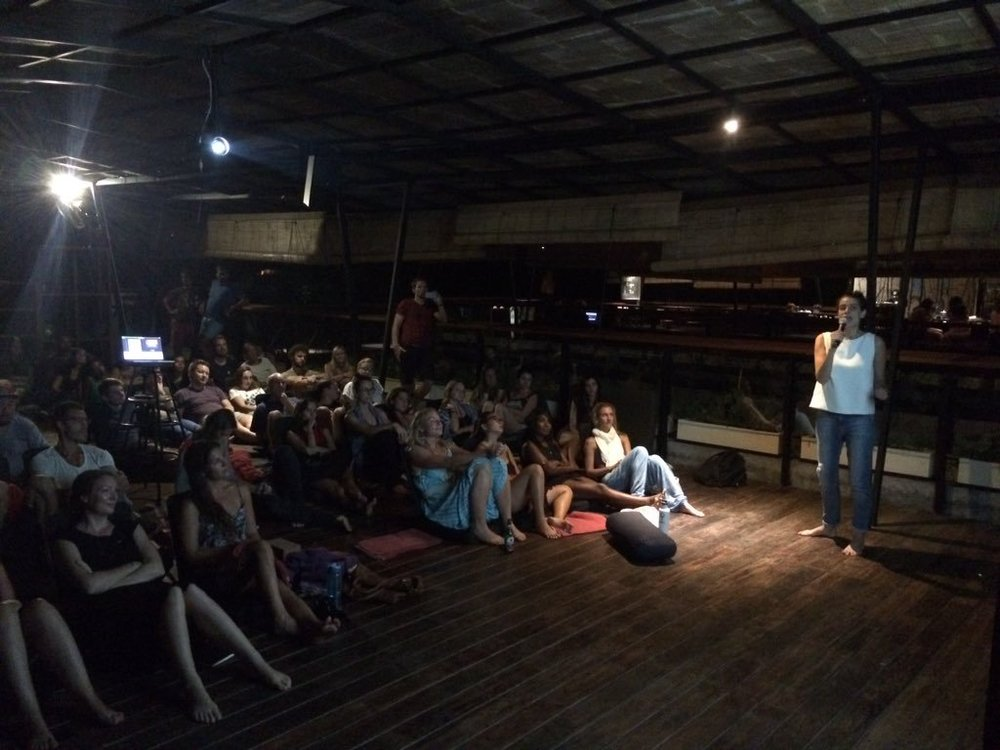 Yesstories night , February 2016, Bali, Indonesia