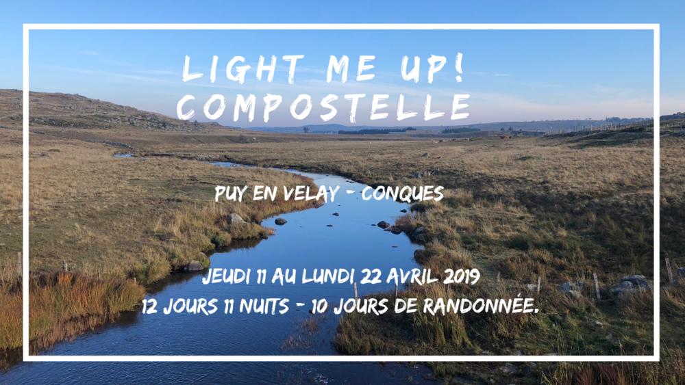 👣  Puy en Velay - Conques  Jeudi 11 au lundi 22 avril 2019 (Pâques)  12 jours/11 nuits - 10 jours de randonnée