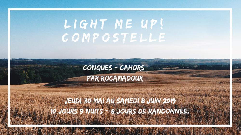 👣  Conques - Cahors par Rocamadour  Jeudi 30 mai au samedi 8 juin 2019  10 jours/9 nuits - 8 jours de randonnée