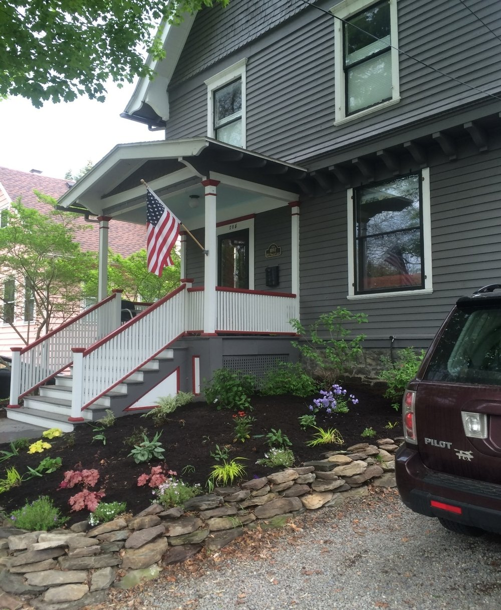 705 North Cayuga Street as it looks today.