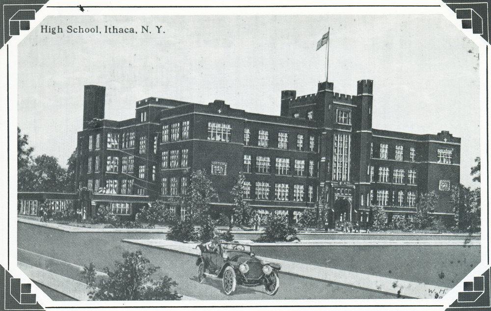 Old Ithaca High School
