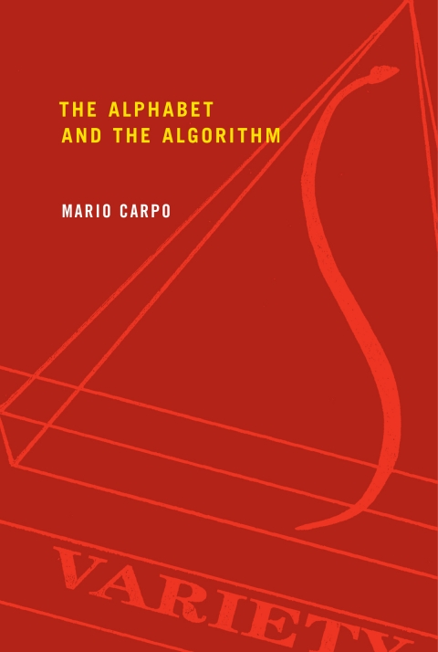 "The Alphabet and the Algorithm    by Mario Carpo   If digital technologies have created a ""paradigm shift"" for architecture, which paradigm is shifting? In  The Alphabet and the Algorithm , Mario Carpo points to one key practice of modernity: the making of identical copies. Carpo highlights two examples of identicality crucial to the shaping of architectural modernity: in the 15th century, Leon Battista Alberti's invention of architectural design, according to which a building is an identical copy of the architect's design; and, in the 19th and 20th centuries, the mass production of identical copies from mechanical master models, matrixes, imprints, or molds. The modern power of the identical, Carpo argues, came to an end with the rise of digital technologies. Everything digital is variable. In architecture, this means the end of notational limitations, of mechanical standardization, and of the Albertian, authorial way of building by design. Charting the rise and fall of the paradigm of identicality, Carpo compares new forms of postindustrial digital craftsmanship to hand-making, reviews the unfolding of digitally based design and construction from the early 1990s, and suggests a new agenda for architecture in an age of variable objects and of generic and participatory authorship."
