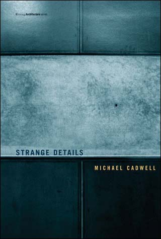 "Strange Details   by  Michael Cadwell  Foreword by   Nader Tehrani    RIBA Finalist for Book of the Year, 2007    Confronted with the intricate construction details of Carlo Scarpa's Querini Stampalia Gallery – steel joined at odd intervals, concrete spilled out of concatenated forms, stone cut in labyrinthine pattern – Michael Cadwell abandoned his attempts to categorize them theoretically and resolved instead to appreciate their idiosyncrasies and evoke their all-embracing affects. What he had dismissed as a collection of fetishes he came to understand as a coherently constructed world that was nonetheless persistently strange. In  Strange Details , Cadwell looks at the work of four canonical architects who ""made strange"" with the most resistant aspect of architecture – construction. In buildings that were pivotal in their careers, Scarpa, Frank Lloyd Wright, Mies van der Rohe, and Louis Kahn all created details that undercut our critical and analytical terra firma. Cadwell explores the strangeness of Scarpa's Querini Stampalia, the wood light-frame construction of Wright's Jacobs House, the welded steel frame of Mies's Farnsworth House, and the reinforced concrete of Kahn's Yale Center for British Art. Each architect, he finds, reconfigures the rudimentary facts of construction, creating a subtle but undeniable shift in a building's physicality. And for each of them, nature is strange, and its strangeness infects; nature unmoors exhausted cultural ideas, constricted analytical procedures, and outmoded production techniques. An awakening to nature's strangeness forces a new sense of the world, one that we can detect in these architects' configurations of the world's materials – their strange details."