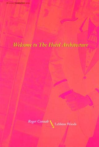 "Welcome to the Hotel Architecture  by Roger Connah Foreword by Daniel Libeskind  Departing from conventional genres of architectural writing, Roger Connah's  Welcome to the Hotel Architecture  is a five-part ""anti-epic"" poem on the culture of architecture – its tribes and inventions, the spectacular and vernacular, and the processes through which names and movements are secured, erased, and manipulated. Using various styles and poetic approaches, Connah takes us on an eccentric hop, skip, and jump along the compound walls of architecture and eventually to the Hotel Architecture itself and a carnivalesque New Year's Eve symposium on December 31, 1999. In the foyer to the Digital Lounge, where the DITTO conference is taking place, some guests are raising their glasses to Gin and Tectonica, others saying good-bye to the rhetoric of the last century, while others cling to literary theory and philosophical thinness. Following midnight hour, the crews finally arrive to clean up the mess left by the architecture wars of the last century."