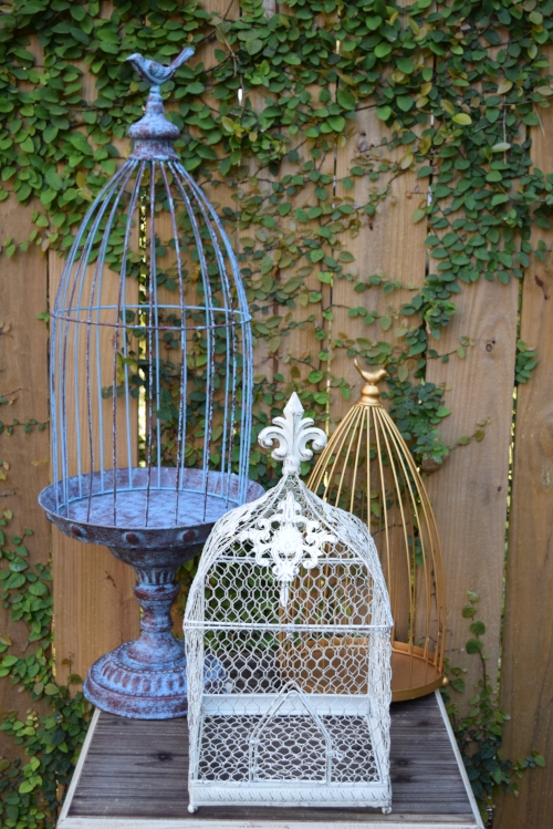 ASSORTED BIRD CAGES