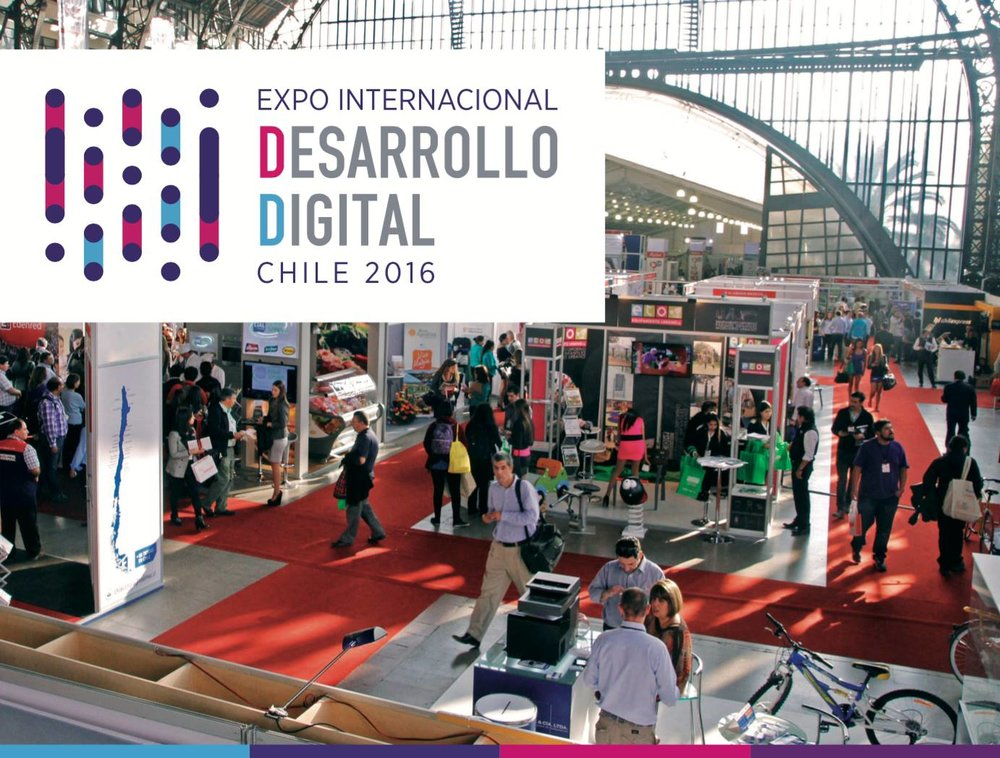 Expo Internacional de Desarrollo Digital Chile 2016