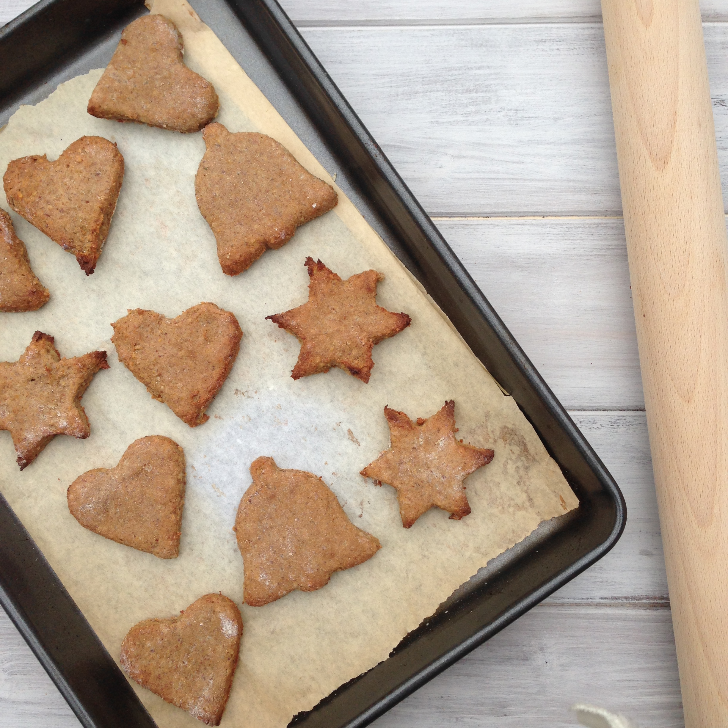 Homemade Christmas Biscuits Mind Body Bowl