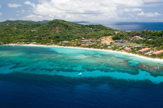 West Bay Beach, Roatan, Honduras, Central America
