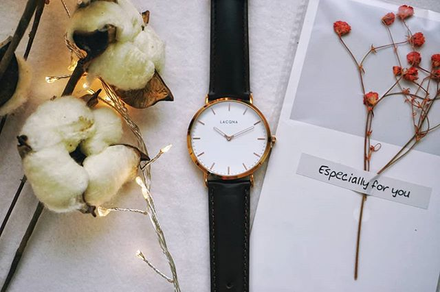 The greatest happiness of life is the conviction that we are loved; loved for ourselves, or rather, loved in spite of ourselves. #lacqnawatches #lacqna #preciousmemory