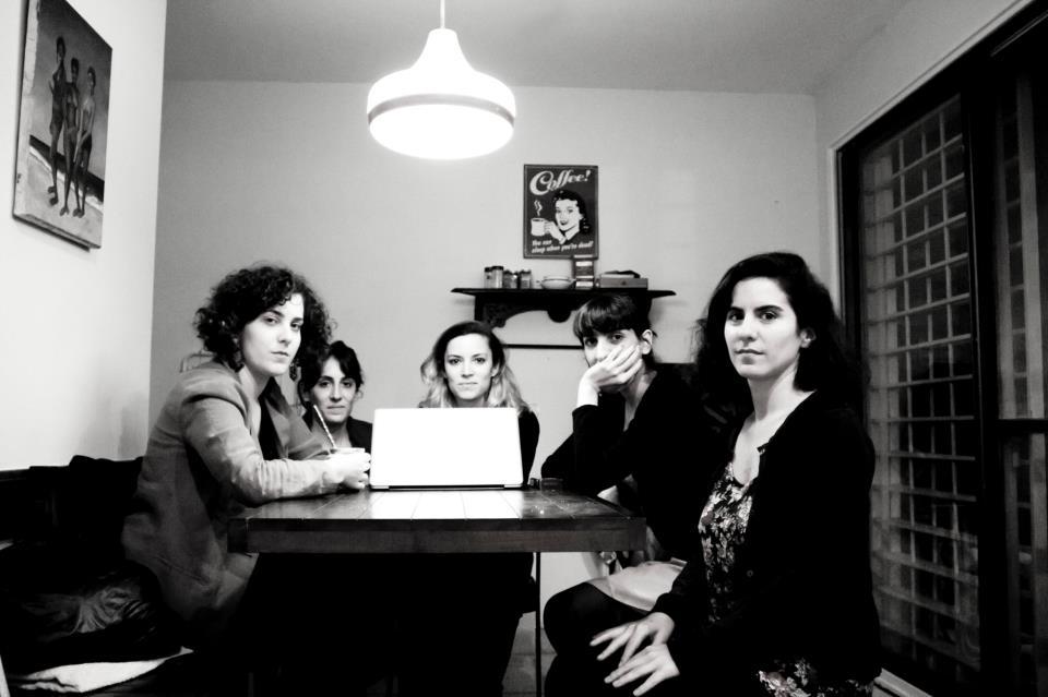 Pre Montaje junto a Geraldine Barón, 2013
